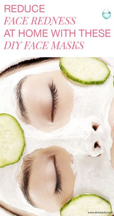 Cucumber Face Mask: Benefits and Homemade Face Mas… – Face Diy Mask Reduce Face Redness, Face Mask For Redness, Acne Face Mask, Diy Face Mask, Face Diy, Diy Mask, Face Scrub Homemade, Homemade Face Masks, Homemade Moisturizer