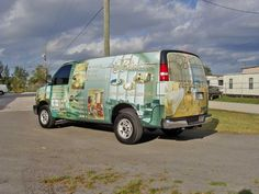 Custom Wrap for Business Vans http://graphicinstallers.com/car-wraps-and-decals/#