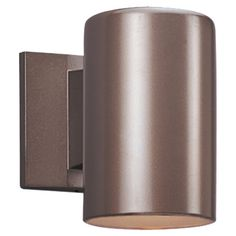 One Light Outdoor ENERGY STAR Wall Cylinder