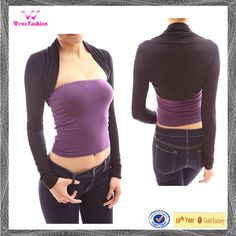 Find a supplier who will do matching tanks. Ladies Long Sleeve Boleros Shrugs Open Front And Cropped Cardigan , Find Complete Details about Ladies Long Sleeve Boleros Shrugs Open Front And Cropped Cardigan,Ladies Open Front Cardigan,Long Sleeve Crochet Cardigan,Lady Spandex Bolero from Women's Tank Tops Supplier or Manufacturer-Dongguan Wens Fashion Co., Ltd.