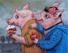 Хорошее настроение с художницей Joy Campbell. Часть 2.. Обсуждение на LiveInternet - Российский Сервис Онлайн-Дневников