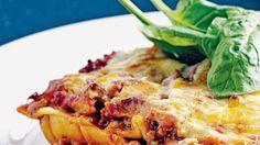 Les lasagnes, le plat familial par excellence.