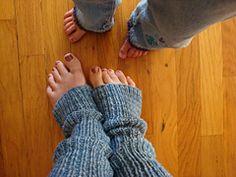 Ravelry: Super-Easy Leg Warmers pattern by Joelle Hoverson