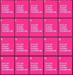 30 day bedtime workout challenge