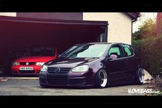 That's how my garage is gonna be like. <3 VW all the way. ;)