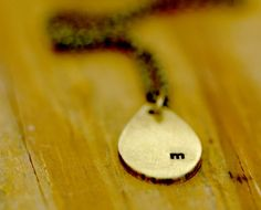 tear drop shape necklace