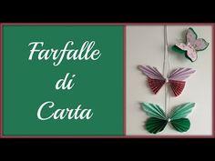 Tutorial: Come realizzare una ghirlanda con rose e farfalle di carta - La Figurina - YouTube