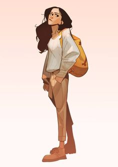 Backpack girl! by Max Grecke