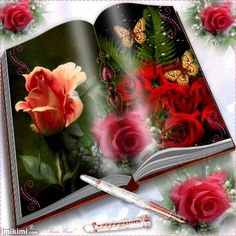 Book of flowers .