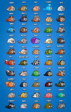 LITTLE ANIMALS BOX by Daniel Ferenčak, via Behance