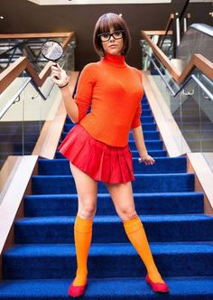 Velma Cosplay by Gina B Cosplay ow ow