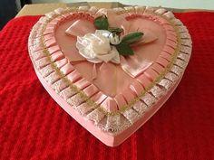Vintage Pink Brown Haley Valentine Candy Box | eBay