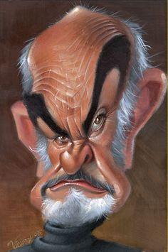 [ Sean Connery ] - artist: Joan Vizcarra - website: http://www.vizcarra.info