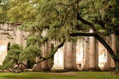 Old Sheldon Church Ruins- South Carolina...imagine that as a venue!
