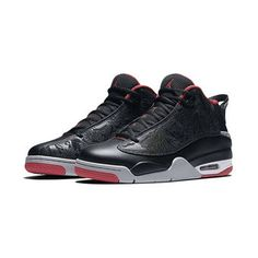 Youth Black Air Jordan Dub Zero Basketball Shoes