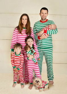 Adult Christmas Pajamas, Personalized Matching Holiday PJs - PRE ...