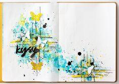 Lehtipollon leikekirja: Art journal: Kysy