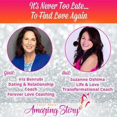 Iris Benrubi - Dating & Relationship Coach is sharing with you how it's never too late for women over 40 to live their best life and find love again. Relationship Coach, Love Again, Forever Love, Never, Iris, Coaching, Dating, Life, Training
