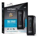 #9: ARRIS SURFboard SB6183 DOCSIS 3.0 Cable Modem - Retail Packaging Charcoal Black (SB6183 Black)  All Computers (http://amzn.to/2bPB6jz)  Laptops (http://amzn.to/2c0k7tL) Tablets (http://amzn.to/2bv7uto) Desktops (http://amzn.to/2c6ZQoT) Monitors (http://amzn.to/2bYwiHW) Accessories (http://amzn.to/2bJGeXf) Components (http://amzn.to/2bJHxoU) PC Gaming (http://amzn.to/2bK1DRC). affiliate