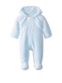 Emile et Rose Baby Fleece Hooded Coverall at MYHABIT