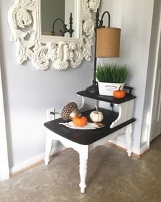 Do THIS to any old side table to make it look stunning in your entryway—and everyone is already going crazy for it! Ikea Furniture, Furniture Makeover, Painted Furniture, Antique Furniture, Upcycled Furniture, Furniture Ideas, Refurbishing Furniture, Trendy Furniture, Western Furniture