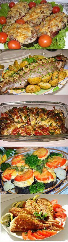 Вкуснейшие рыбные блюда. | ЖЕНСКИЙ МИР