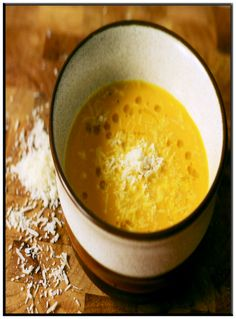 Pumpkin and parmesan soup   http://www.ibssanoplus.com/low_fodmap_pumpkin_parmesan_soup.html
