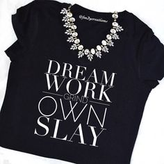 I GRIND til I OWN IT// I Slay Tshirt // by LetsPartyCreations