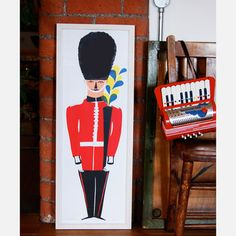 £125.00   On Guard Print  by Lucie Sheridan    http://luciesheridan.bigcartel.com/product/on-guard
