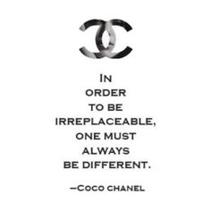 Have never heard this quote before but I guess that's why I long to be different. Ha the things you learn about yourself