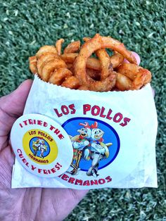 [I ate] Los Pollos Hermanos Curly Fries