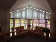 Sloping Vertical Blind