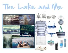 """""""The Lake and Me"""" by umoja ❤ liked on Polyvore featuring Miss Selfridge, Frame Denim, Dolce&Gabbana, MICHAEL Michael Kors, Carolina Glamour Collection, Aéropostale, Moyana Corigan, Joules and NARS Cosmetics"""