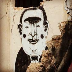 """Mallorcan graffiti! These cute little works of art are all over Palma de Mallorca. #palma #palmademallorca #Spain #mallorca #graffiti #graffitiart"""