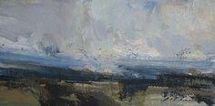 "Wheatland #3 by Simon Addyman Oil ~ 8"" x 16"""