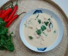 Thai Chicken and Coconut Soup | Official Thermomix Forum & Recipe Community Ginger Juice, Lime Juice, Coconut Soup, Coconut Milk, Thermomix Soup, Kaffir Lime, Jasmine Rice, Thai Chicken, Fish Sauce