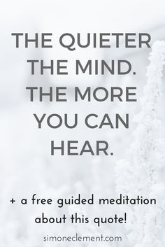 A busy mind can be painful. The steady stream of negative thoughts can wear us down and hurt our chances of living a complete life. Say NO MORE! Quiet your mind with this FREE MEDITATION. Click here to learn about it:  https://simoneclement.com/blog/motivational-inspirational-quotes-meditation-mindfulness  quotes about mindfulness thoughts own perspective mantra wisdom motivation strength so true remember this my life deep inspirational positive