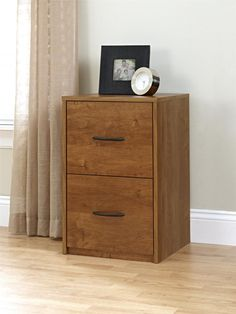 2 Drawer Wood File Cabinet Document Office Storage Light Brown Home Furniture Home Office Filing Cabinet, Filing Cabinet Organization, Office File Cabinets, 2 Drawer File Cabinet, Filing Cabinets, Office Storage Furniture, Wood Bedroom Furniture, Home Office Storage, Black Furniture