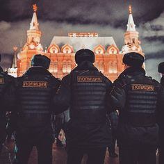 Russian police in Instagram photos