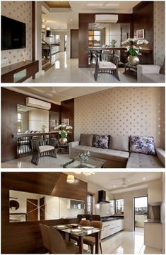 New Apartment Decorating Studio Dining Tables Ideas – Virender Kumar Sharma – Ne… – Indian Living Rooms Studio Apartment Decorating, Apartment Interior Design, Decor Interior Design, Interior Ideas, Indian Living Rooms, Small Living Rooms, Living Room Designs, Living Area, Bungalow Interiors