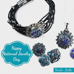 Happy National Jewelry Day!  March 13 is apparently the day you can buy jewelry or support your favourite jeweler (hint hint). Maybe today is the day you dig out that special necklace from grandma to wear.