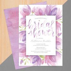 Mauve Matrimony   Bridal Shower Invite   Design by @1canoe2   #wedding #cards #bridal #bridalshower   http://www.mpix.com/cards/wedding/wedding-shower-invitations/mauve-matrimony-shower