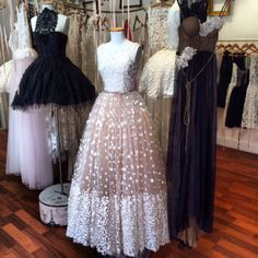 Store interiors on pinterest store interiors boutique for Vintage wedding dresses nyc