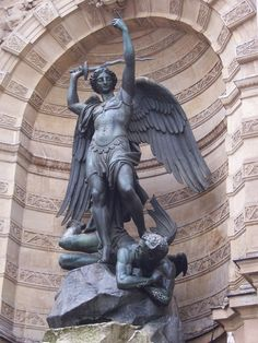 st michael statue - Google Search