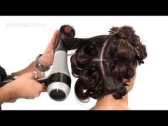 How to Blow Dry for Big, Bouncy Hair | Salon Hair Tutorial - YouTube
