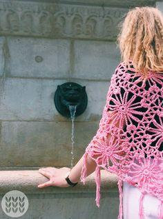 Poncho pink in cotton. Message me for a custom order. Crochet Top, Pink, Cotton, Women, Fashion, Crocheting, Moda, Women's, Fashion Styles