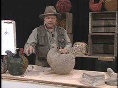 Claywright Chicken Pot with Joe Rock Edwards Woodworking Joints, Woodworking Patterns, Woodworking Workshop, Woodworking Crafts, Woodworking Plans, Ceramic Chicken, Chicken Art, Ceramic Birds, Ceramic Clay