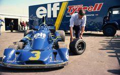 Tyrrell P34 Race Debut 1977