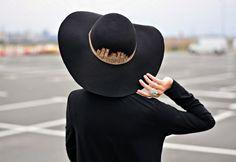 ♥ Jadore Fashion #ozzhats şapkasıyla ♥ It's Poncho time! via the dauphine