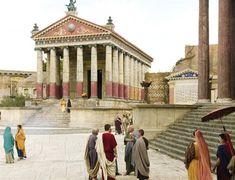 Los decorados de Roma